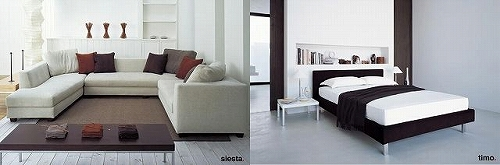 フクラ のソファとベッド