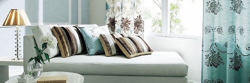 川島織物セルコンのカーテン