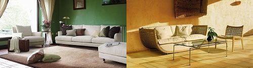 リッツウェルのソファ
